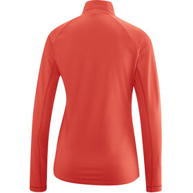 Gonso Antje Active LS Shirt Women fiery coral
